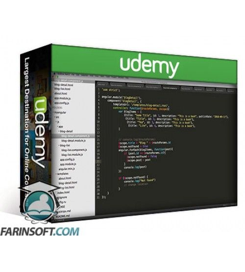 آموزش Udemy Try AngularJS: Beginners Guide to Front End Web Development
