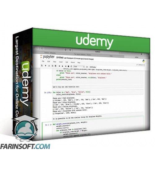 آموزش Udemy StoneRiver Learning – Python iPython
