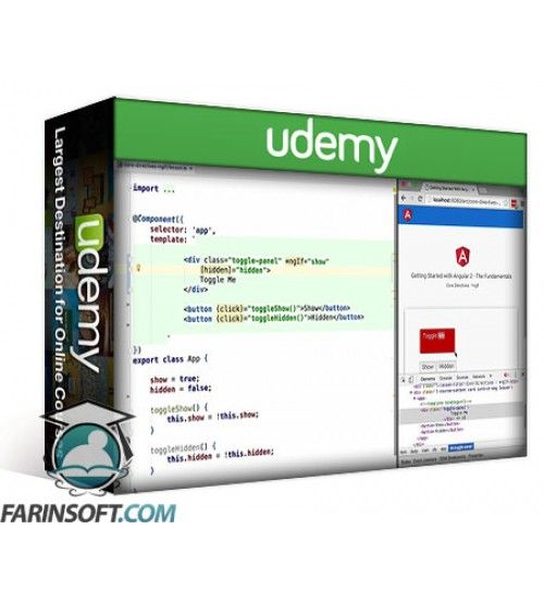 آموزش Udemy Angular 2 For Beginners – Introduction To Directives