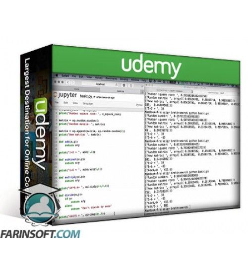 آموزش Udemy Python Library SciPy