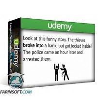 آموزش Udemy English Grammar Launch: Upgrade your speaking and listening