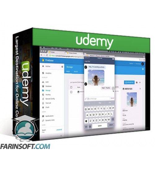 آموزش Udemy Professional iOS Chat App with Social Login using Firebase 3