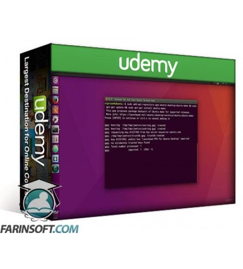 آموزش Udemy Ubuntu Web Development Setup