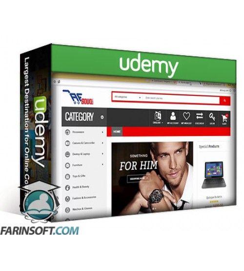آموزش Udemy Learn How To Build A Huge Comprehensive E-Commerce Web Site