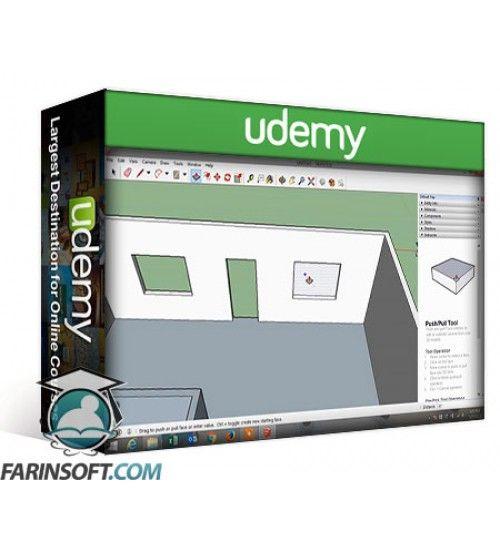 آموزش Udemy Learning Sketchup for Beginners
