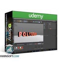 آموزش Udemy 2 In 1 Flat Shadow in PS & 3D Text in Cinema 4D
