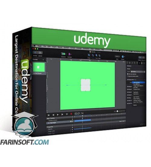 آموزش Udemy Tumult Hype Pro Basics: HTML5 Animations Made Easier