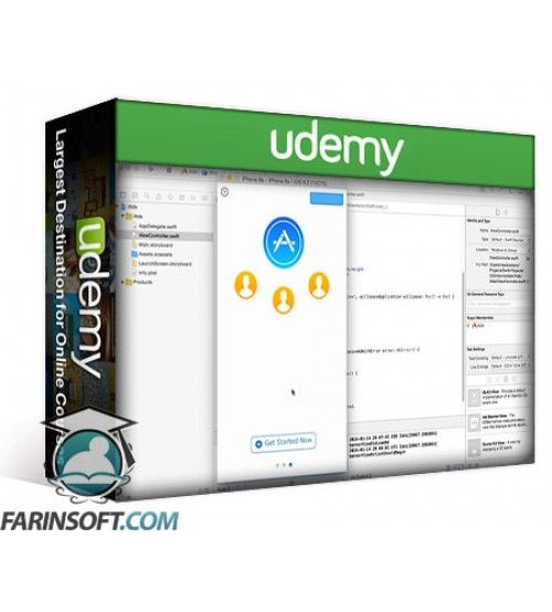 آموزش Udemy Intermediate iOS 9 Programming