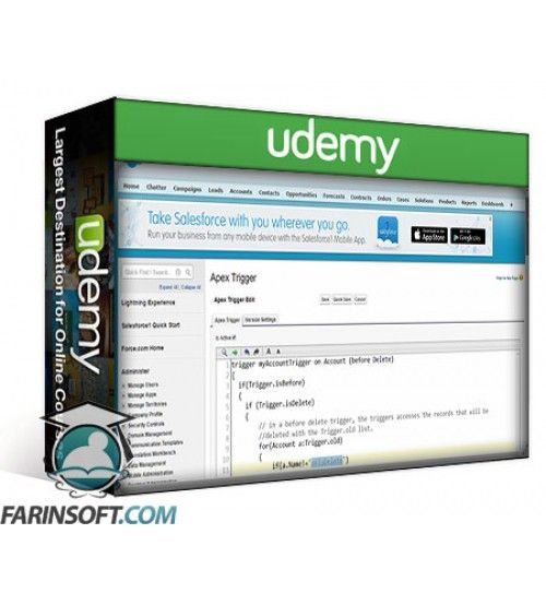 آموزش Udemy Salesforce Developer Training for Platform Developer 1 exam