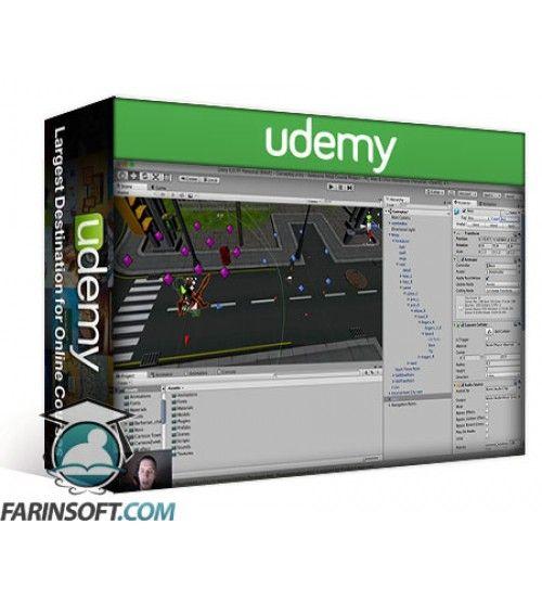 آموزش Udemy Unity Game Development: Make Professional 3D Games