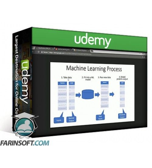 آموزش Udemy Machine Learning Using Python