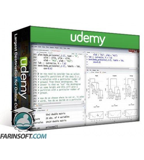 آموزش Udemy Applied Multivariate Analysis with R