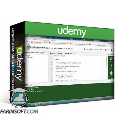آموزش Udemy Data structures in C language