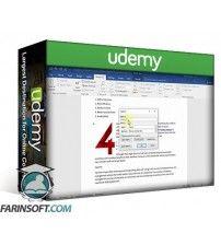 آموزش Udemy The Complete Word 2016 Course 2.0: Beginner To Advanced