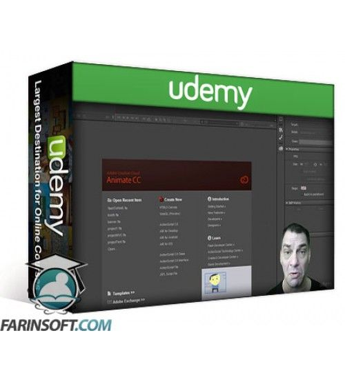 آموزش Udemy Flash to HTML5
