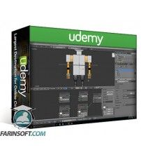 آموزش Udemy Learn Blender 3D – Become a 3D artist and create 50 models
