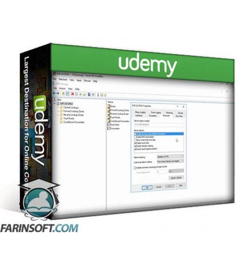 آموزش Udemy Mastering DNS on Windows Server 2016