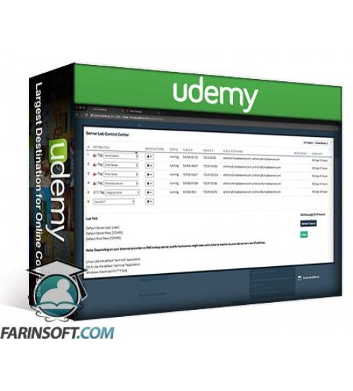 آموزش Udemy LinuxAcademy Certified Chef Developer Basic Chef Fluency Badge