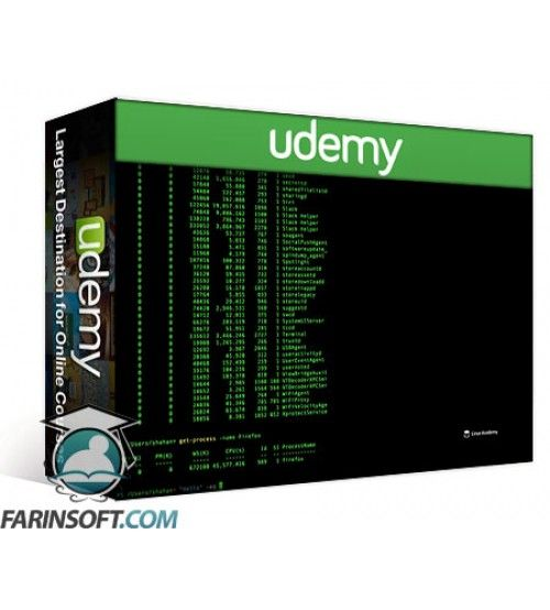 آموزش Udemy LinuxAcademy PowerShell Essentials