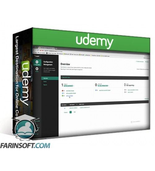 آموزش Udemy LinuxAcademy Puppet Quick Start