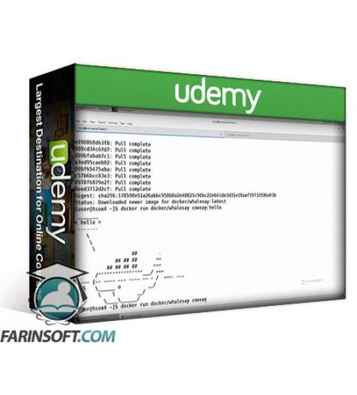 آموزش Udemy LinuxAcademy Docker Quick Start