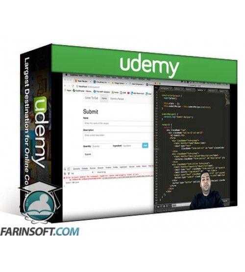 آموزش Udemy React JS – Build real world JS apps & deploy on cloud