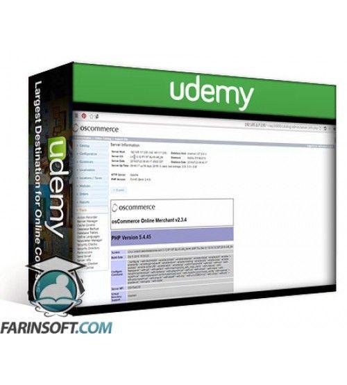 آموزش Udemy Learn How To Build An E-Commerce Web Site By osCommerce