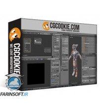 آموزش CG Cookie Blender 101 – Blender 321 Character UV Mapping