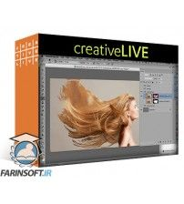 آموزش CreativeLive Retouching Techniques for Hair in Photoshop CC