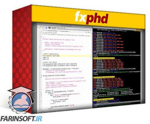 آموزش FXphd Python Fundamentals for the Pipeline