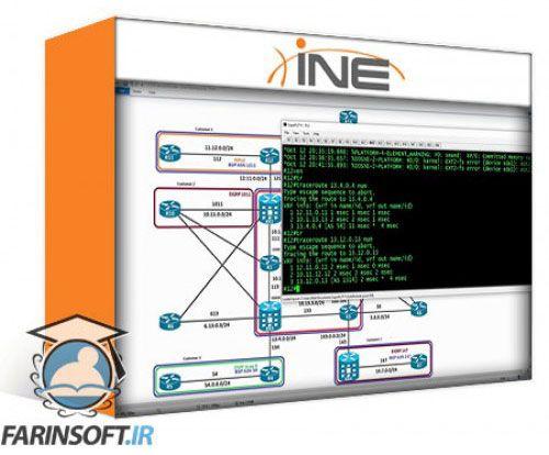 آموزش INE CCNP Service Provider Technology Course: 642-887 SPCORE