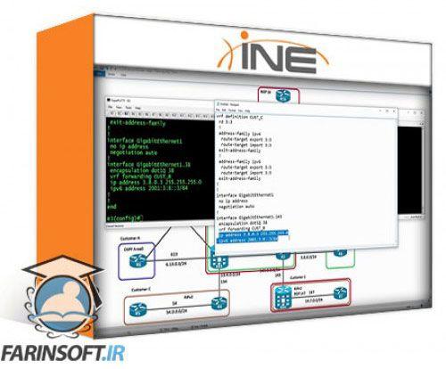 آموزش INE CCNP Service Provider Technology Course: 642-889 SPEDGE