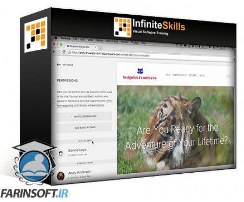 آموزش Infinite Skills Oreilly Learn to Build a Website