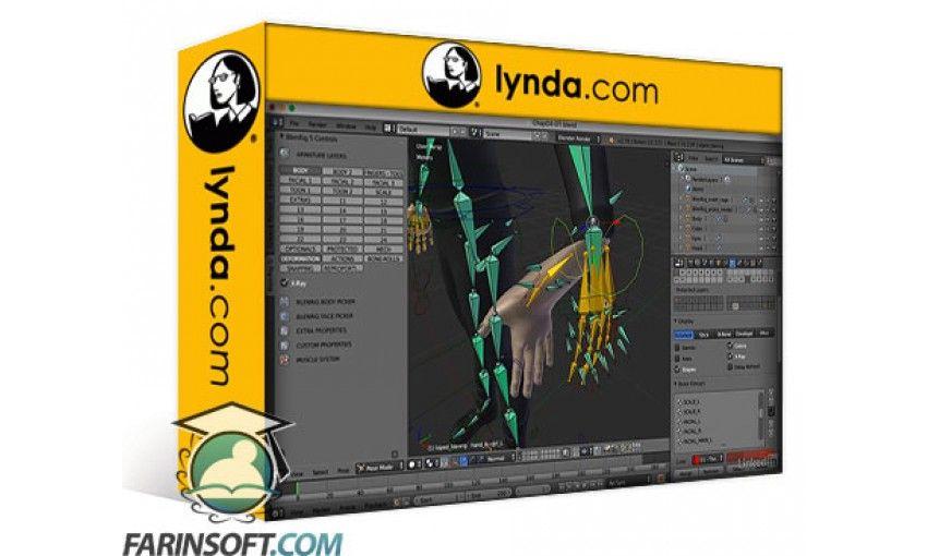 Character Modeling In Blender Lynda : آموزش lynda blender character rigging with blenrig فرین