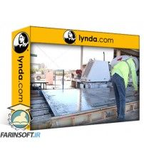 دانلود آموزش Lynda Construction Management: Concrete Construction
