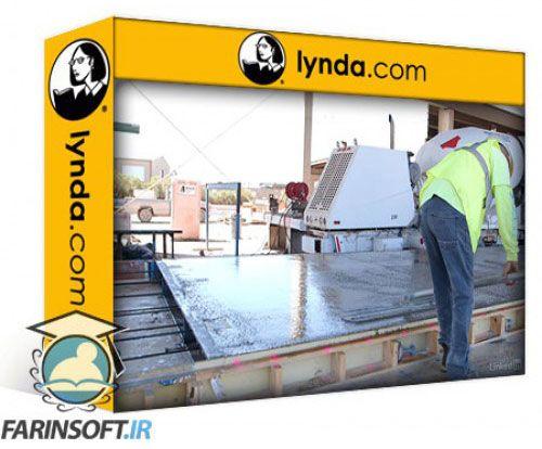 آموزش Lynda Construction Management: Concrete Construction