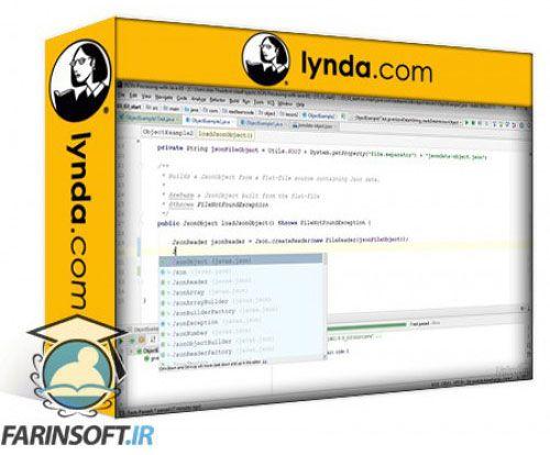 آموزش Lynda JSON Processing with Java EE