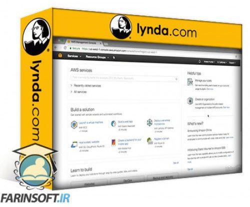 آموزش Lynda Learning Amazon Web Services Lambda