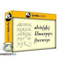 دانلود آموزش Lynda Learning Type Design
