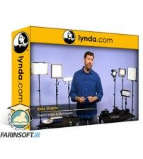 آموزش Lynda Lighting with LED Panels