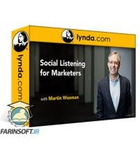 آموزش Lynda Social Listening for Marketers