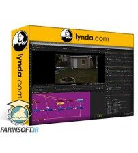 آموزش Lynda 3D Tracking and Nuke Compositing