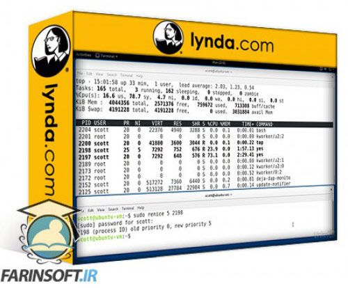 آموزش Lynda LFCS: Operation of Running Systems (Ubuntu)