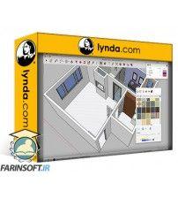 دانلود آموزش Lynda SketchUp: Bathroom Remodel