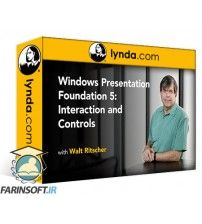 دانلود آموزش Lynda Windows Presentation Foundation 5: Interaction and Controls
