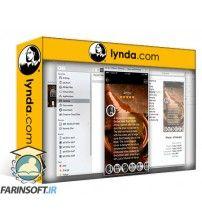 آموزش Lynda Designing and Prototyping a Mobile App with Adobe XD