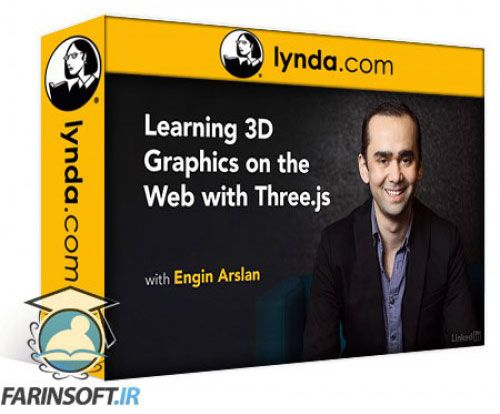 آموزش Lynda Learning 3D Graphics on the Web with Three.js
