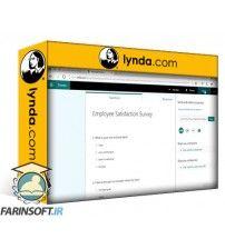 آموزش Lynda Microsoft Forms First Look
