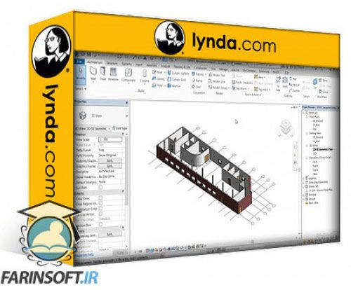آموزش Lynda AutoCAD: Working with Drawings Exported From Revit