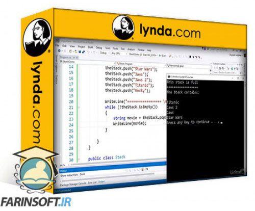 آموزش Lynda Learning C# Algorithms